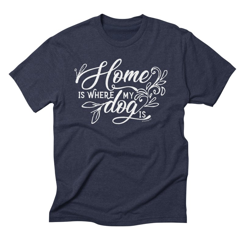 Home Men's Triblend T-Shirt by Pittie Chicks