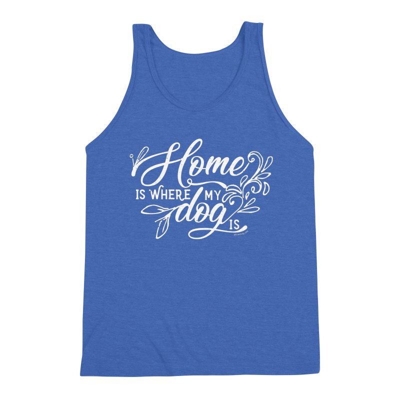 Home Men's Triblend Tank by Pittie Chicks