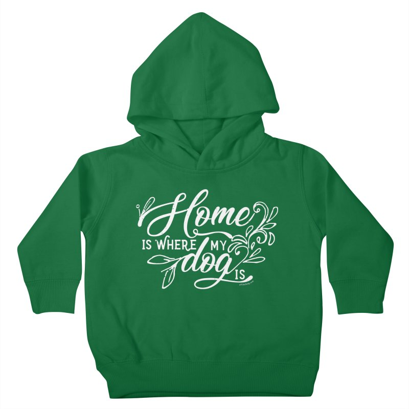 Home Kids Toddler Pullover Hoody by Pittie Chicks