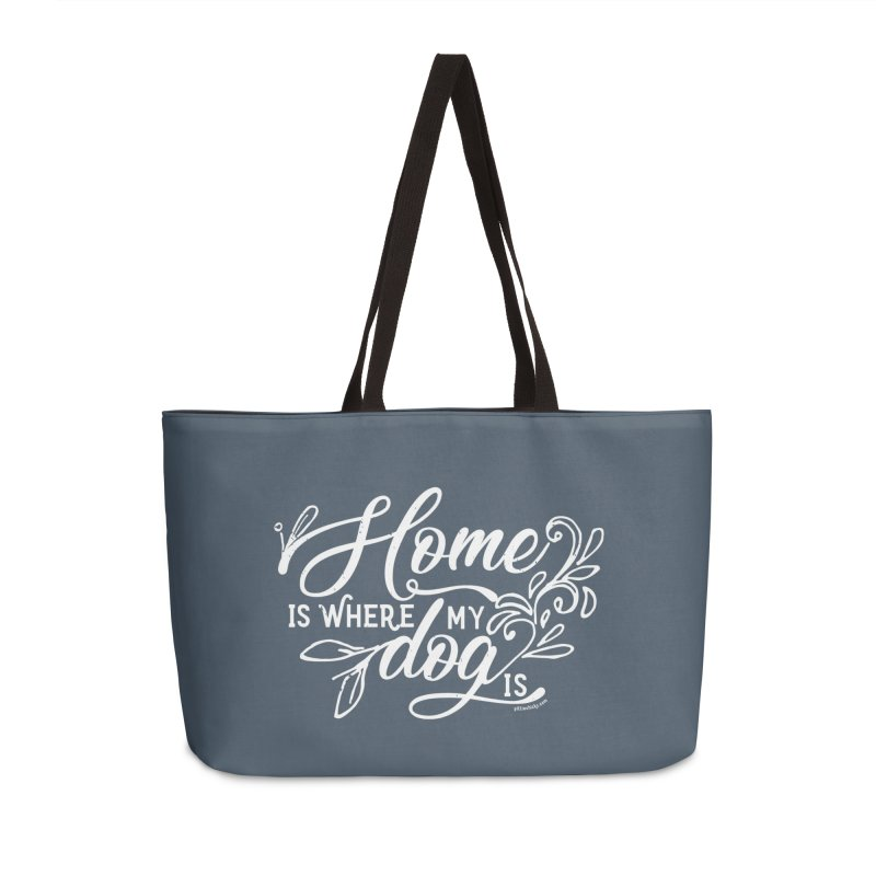 Home Accessories Weekender Bag Bag by Pittie Chicks