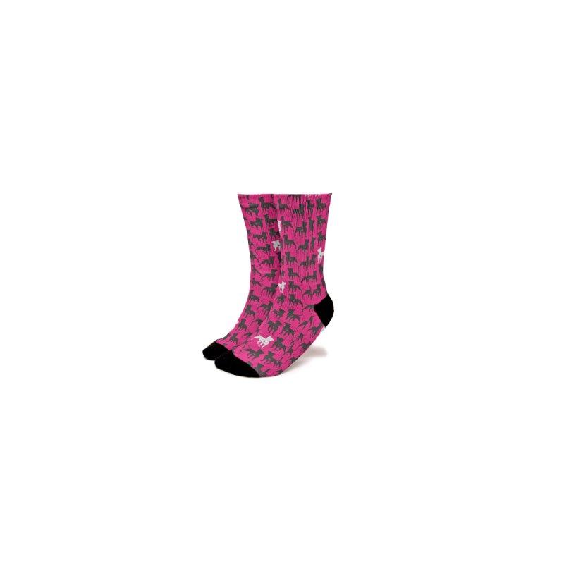 Pittie Chicks Socks Women's Socks by Pittie Chicks