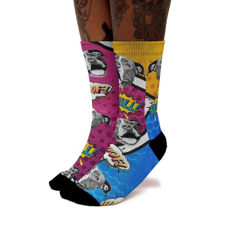 Beefy Bull Socks Women's Socks by Pittie Chicks