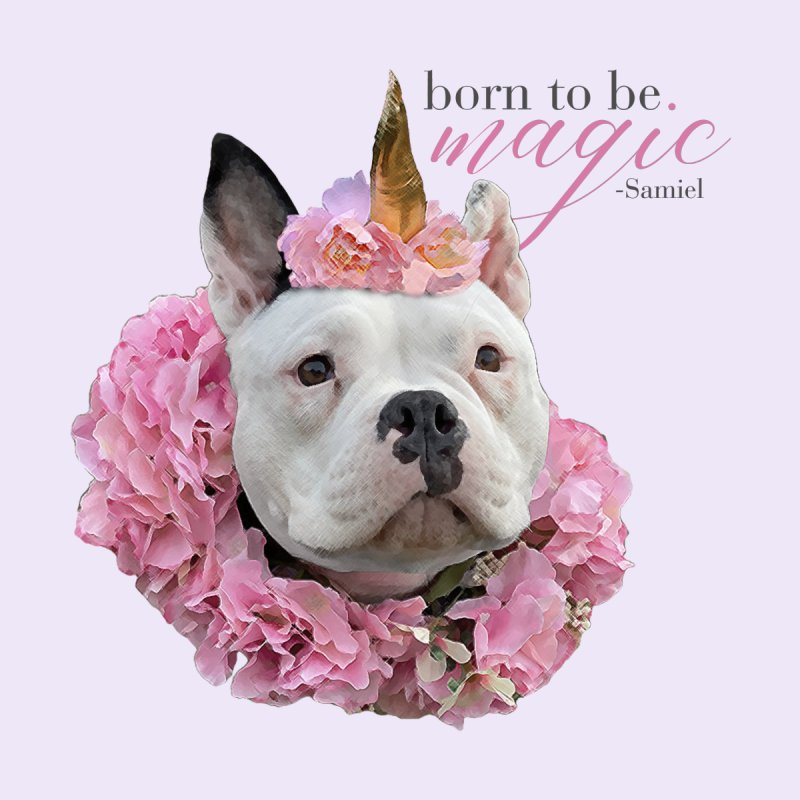 Born Magical - Samiel Home Throw Pillow by Pittie Chicks