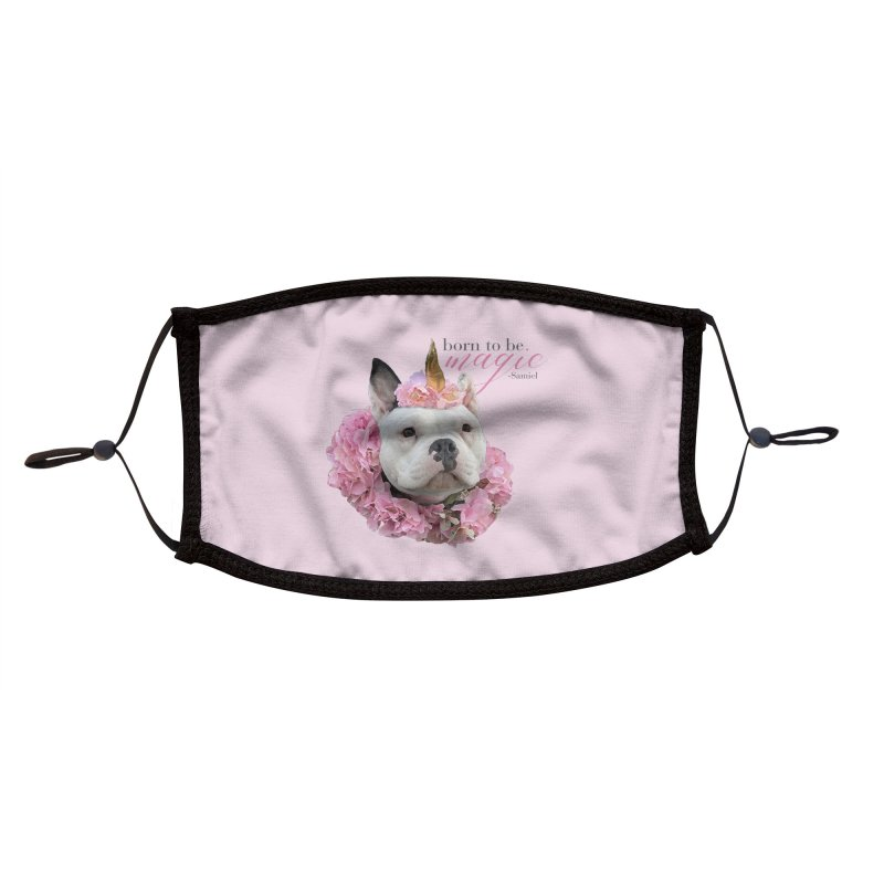 Samiel Magical Face Mask Accessories Face Mask by Pittie Chicks