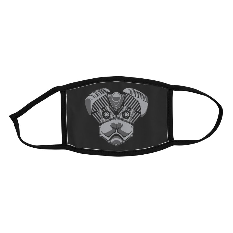 Bully Bot VTwin Face Mask Accessories Face Mask by Pittie Chicks