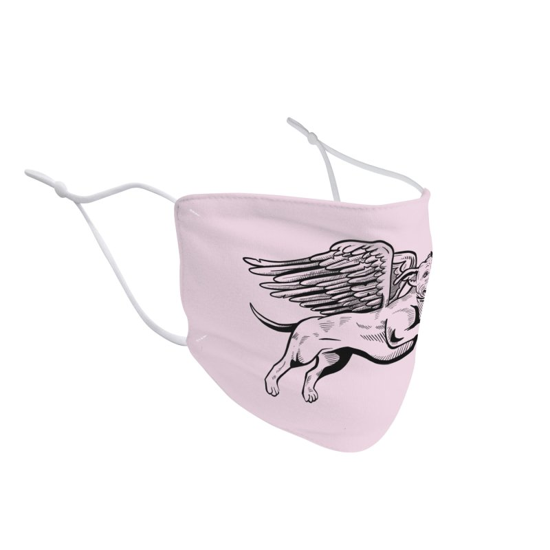 Flying Pit Face Mask Accessories Face Mask by Pittie Chicks