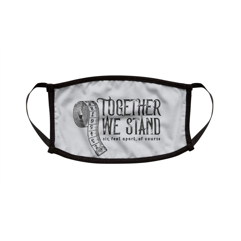 Stand Together Face Mask Accessories Face Mask by Pittie Chicks