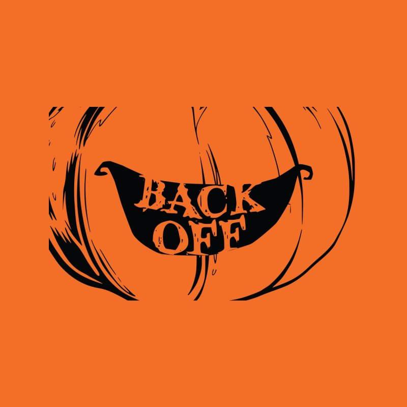 Back Off Halloween Mask Accessories Face Mask by Pittie Chicks