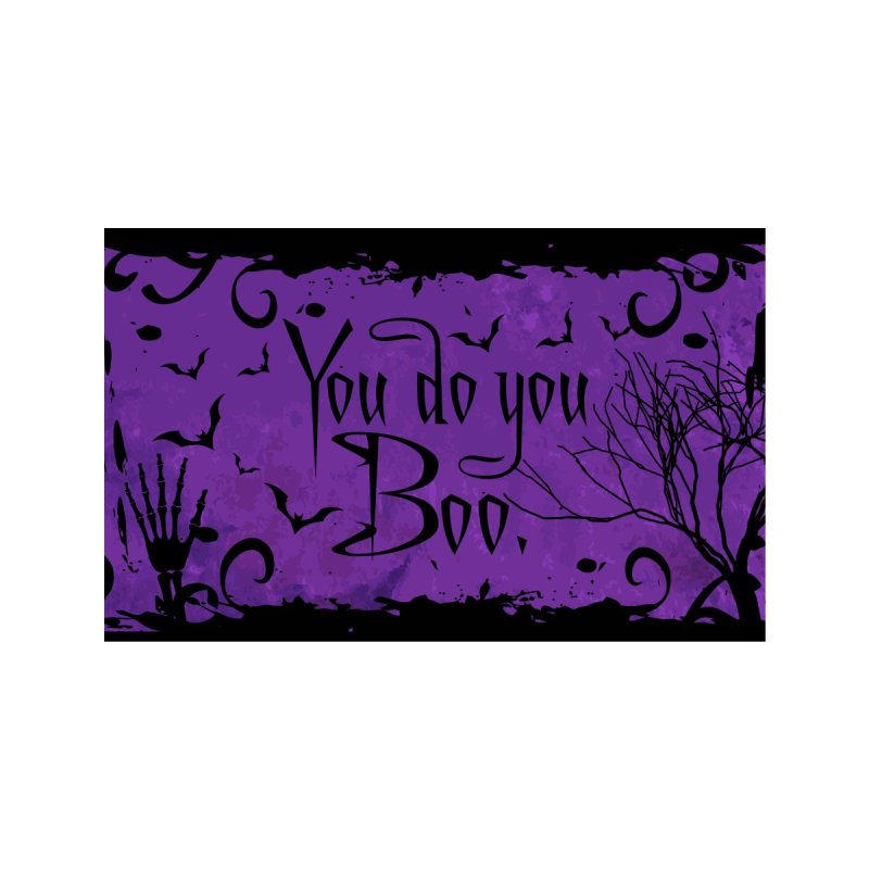 You Do You Boo Face Mask Accessories Face Mask by Pittie Chicks