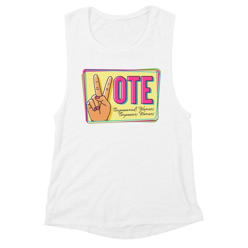 Vote - Empowered Women Women's Tank by Pittie Chicks