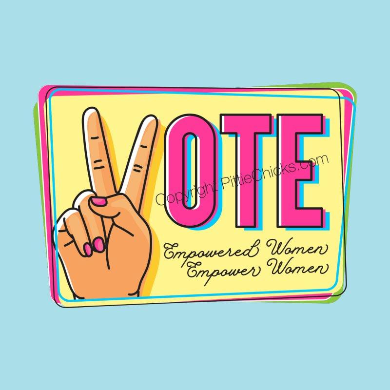 Vote - Empowered Women Men's Pullover Hoody by Pittie Chicks
