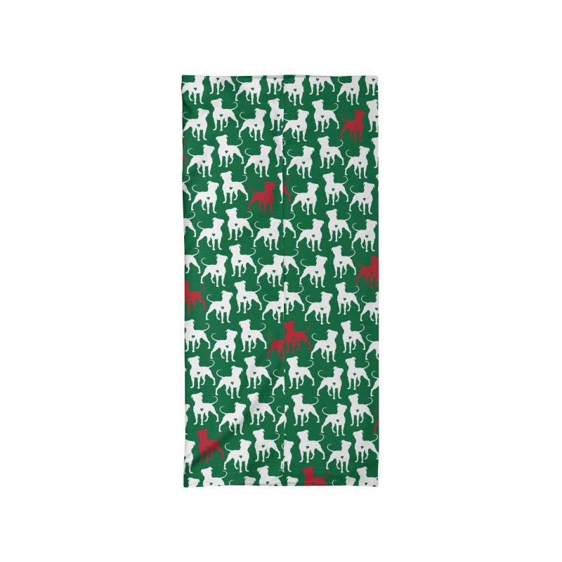 Green Pittie Neck Gaiter Accessories Neck Gaiter by Pittie Chicks