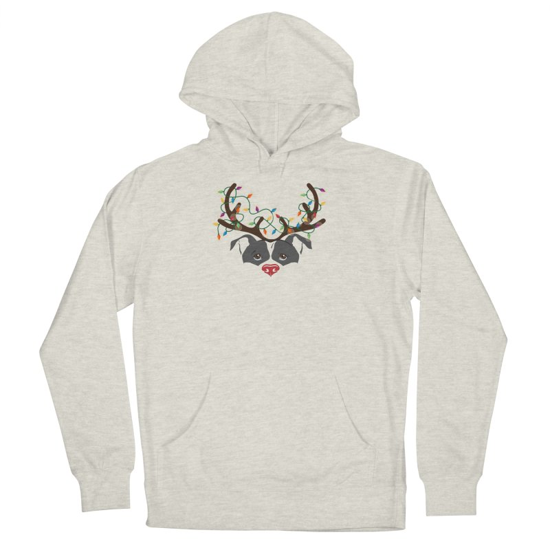 Rudolph ReinBull Men's Pullover Hoody by Pittie Chicks