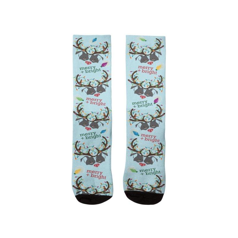 ReinBull Socks Men's Socks by Pittie Chicks
