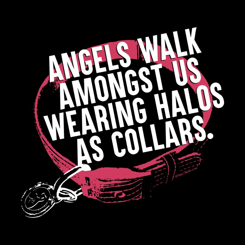 Dogs are Angels Women's Fitted T-Shirt by Pittie Chicks
