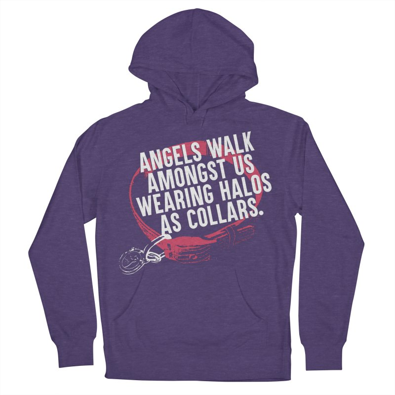 Dogs are Angels Women's Pullover Hoody by Pittie Chicks