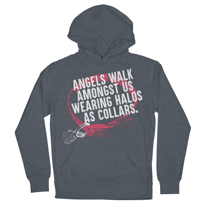 Dogs are Angels Men's Pullover Hoody by Pittie Chicks