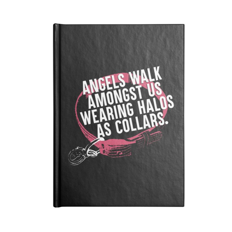 Dogs are Angels Accessories Lined Journal Notebook by Pittie Chicks