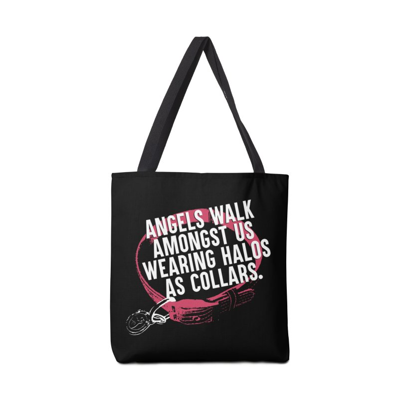 Dogs are Angels Accessories Tote Bag Bag by Pittie Chicks