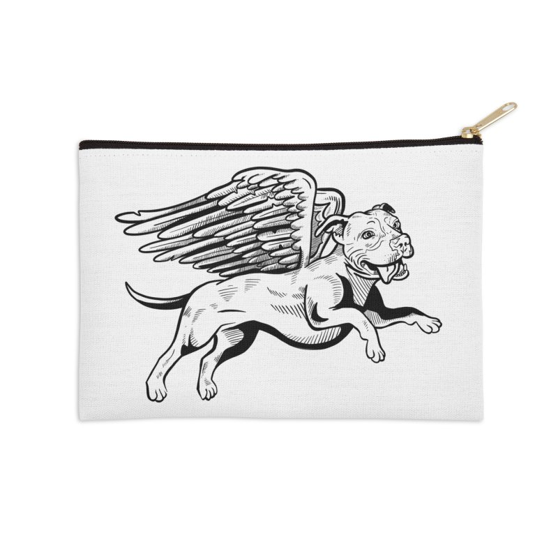 Flying Pit Accessories Zip Pouch by Pittie Chicks