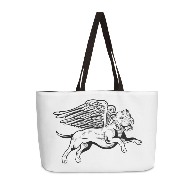 Flying Pit Accessories Weekender Bag Bag by Pittie Chicks