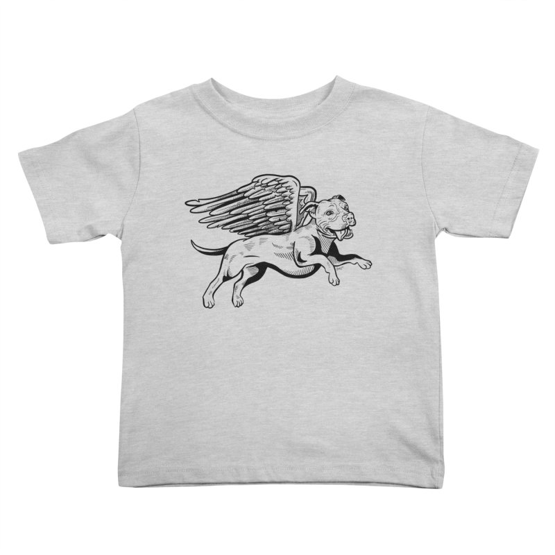 Helping Hurricane Harvey : Flying Pit Kids Toddler T-Shirt by Pittie Chicks