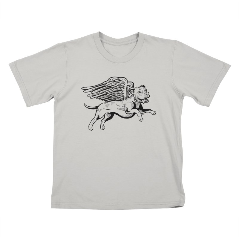 Helping Hurricane Harvey : Flying Pit Kids T-shirt by Pittie Chicks