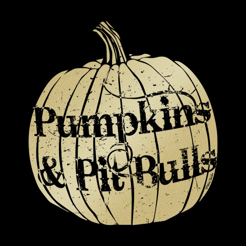Pumpkins & Pit Bulls Men's Tank by Pittie Chicks