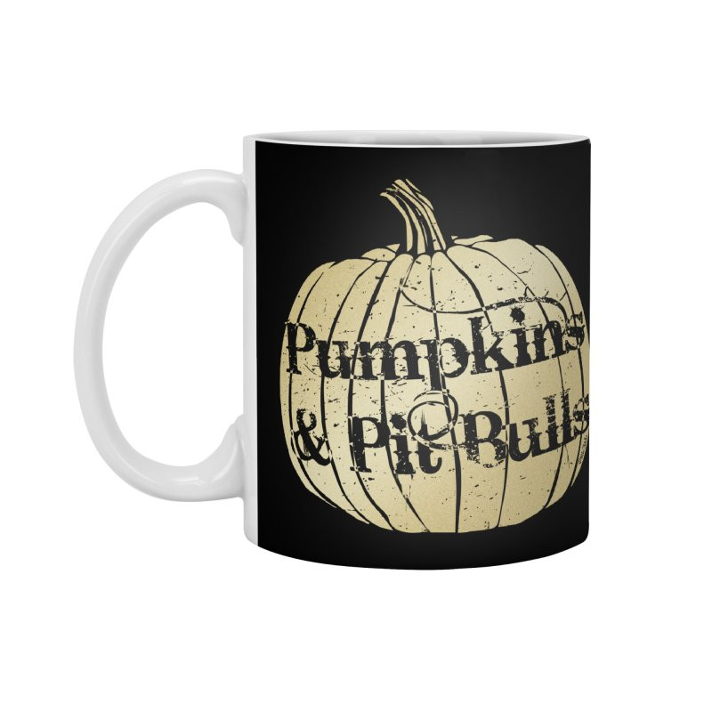 Pumpkins & Pit Bulls Accessories Standard Mug by Pittie Chicks