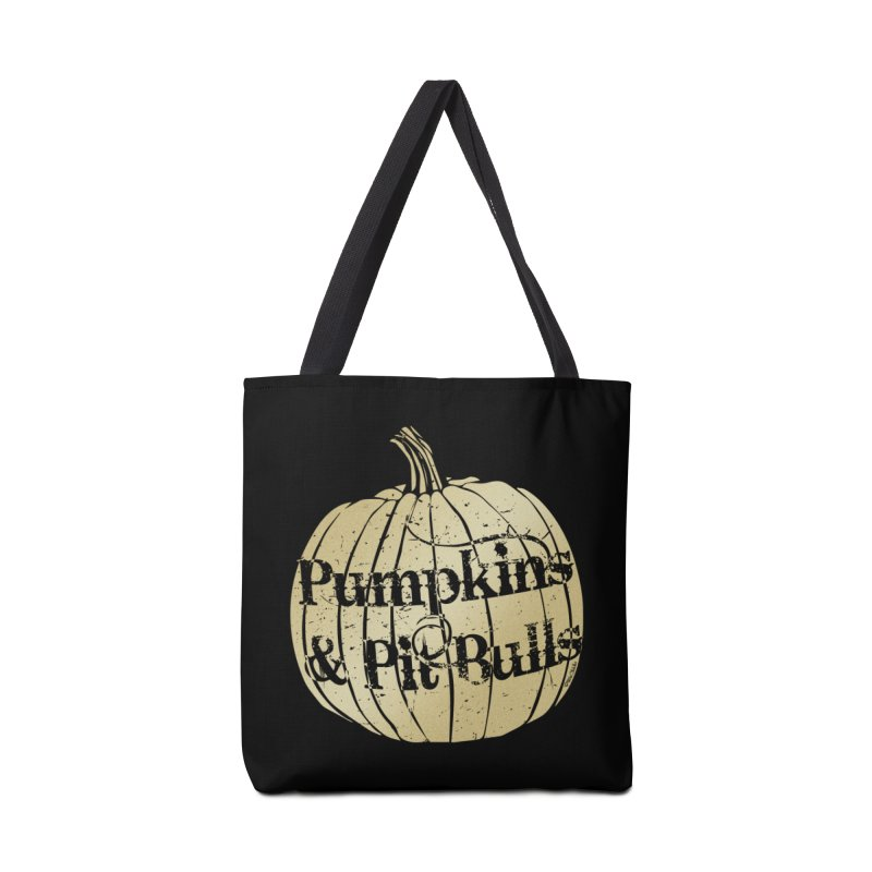 Pumpkins & Pit Bulls Accessories Tote Bag Bag by Pittie Chicks