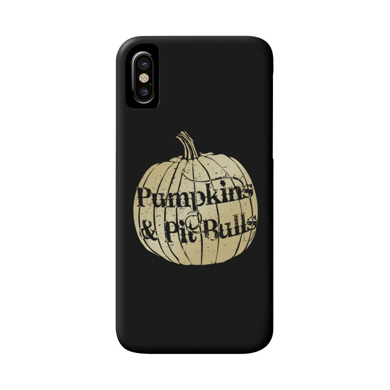 Pumpkins & Pit Bulls Accessories Phone Case by Pittie Chicks