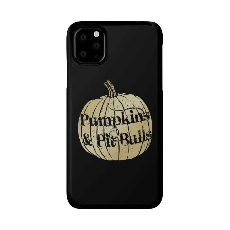 Pumpkins & Pit Bulls Accessories Phone Case by Pittie Chicks