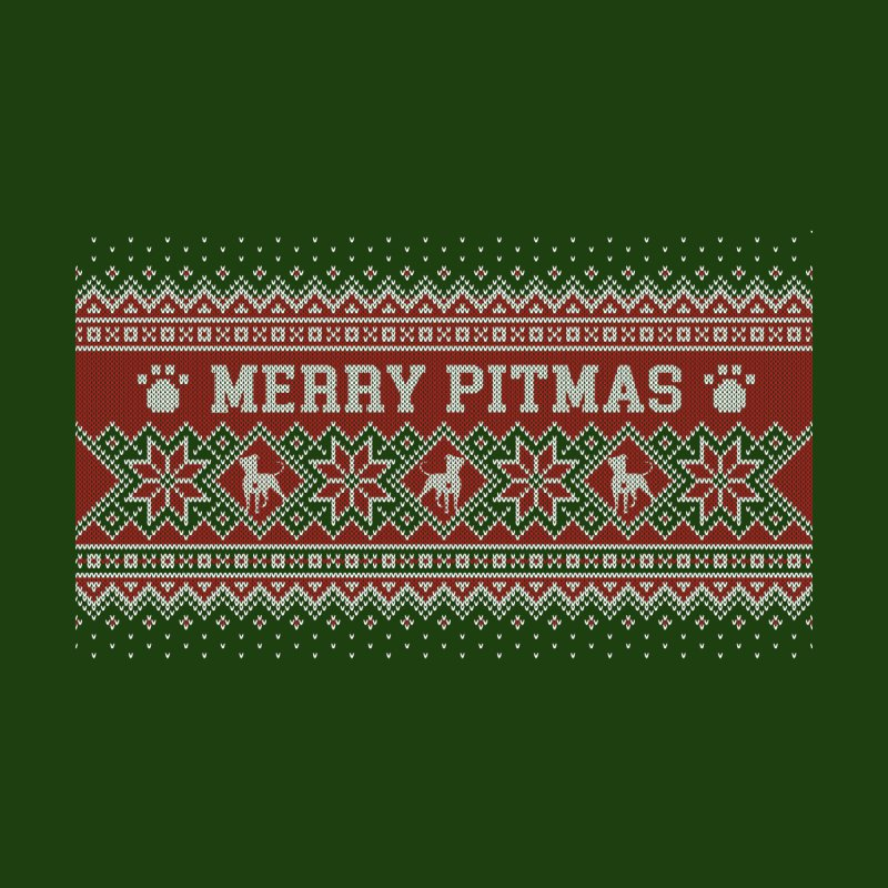Merry Pitmas Ugly Sweater - Holly by Pittie Chicks