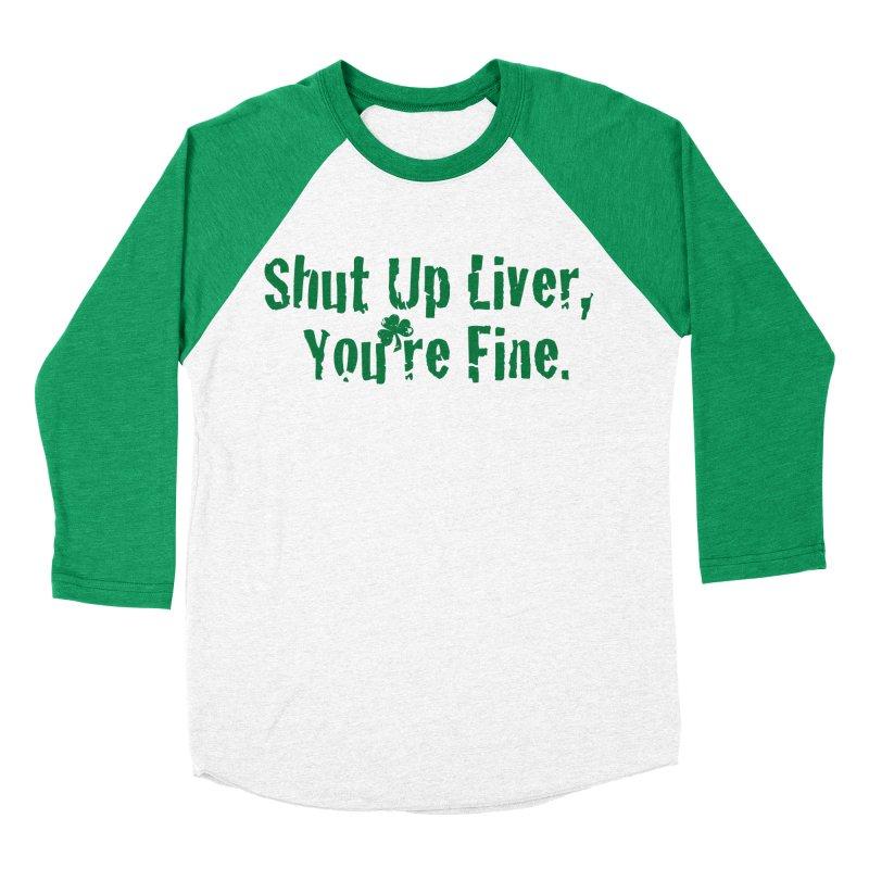Liver Schmivver Raglan Men's Longsleeve T-Shirt by Pittie Chicks