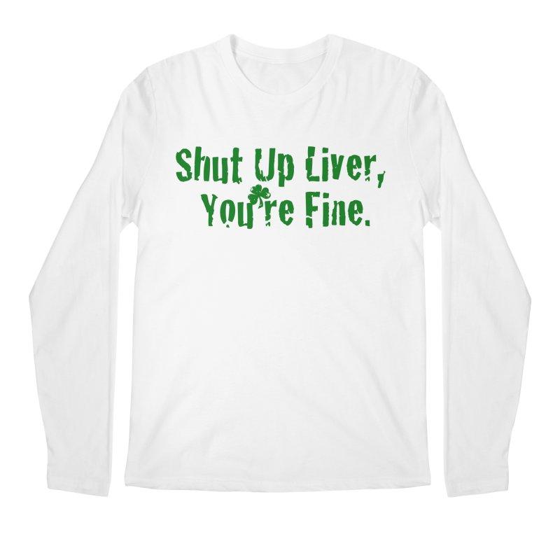 Liver Schmivver Men's Regular Longsleeve T-Shirt by Pittie Chicks