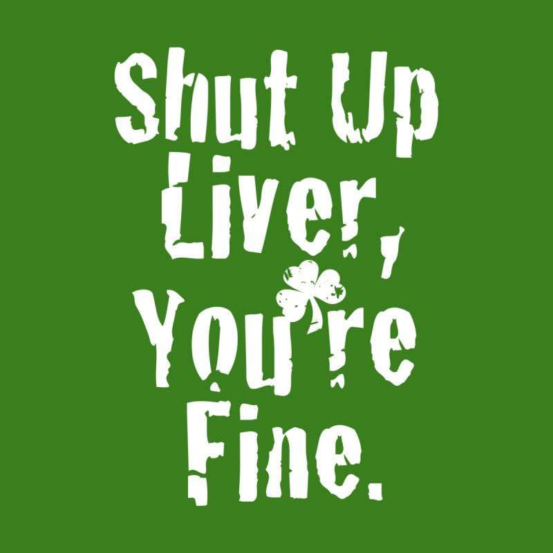 Liver Schmivver Drinking Tee by Pittie Chicks
