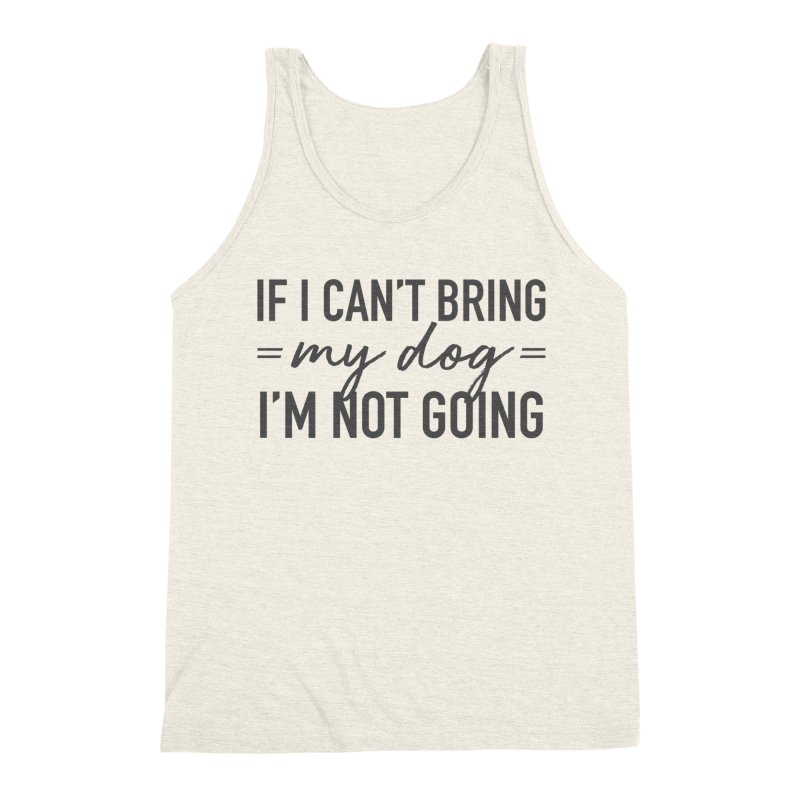 Nope. Not Going. Men's Tank by Pittie Chicks