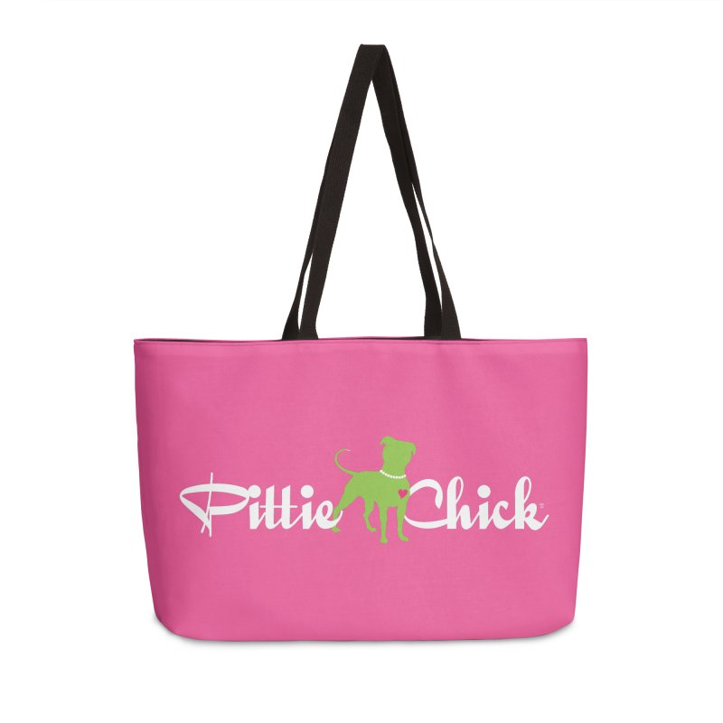 Pittie Chick - Pit in Pearls Accessories Weekender Bag Bag by Pittie Chicks