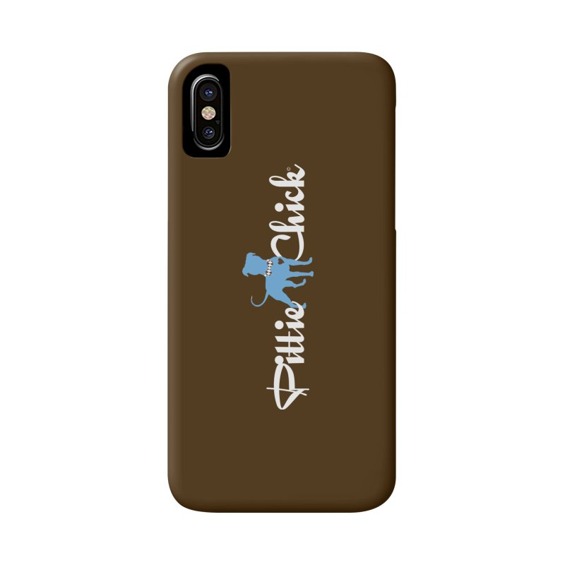 Pittie Chicks - Bow Tie Pit Bull Accessories Phone Case by Pittie Chicks