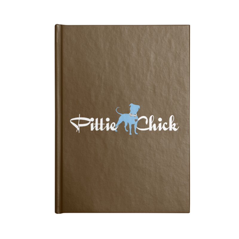 Pittie Chicks - Bow Tie Pit Bull Accessories Notebook by Pittie Chicks