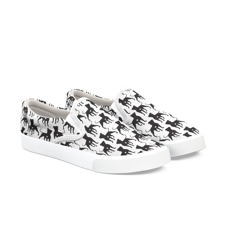 Pittie Love Shoes in Women's Slip-On Shoes by Pittie Chicks