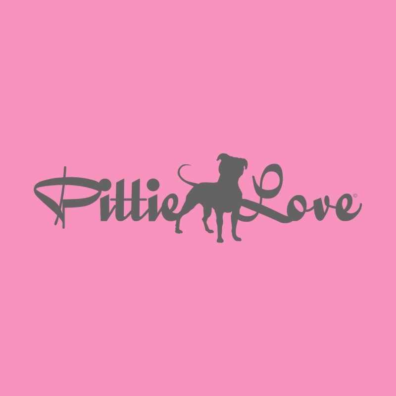 Pittie Love Women's V-Neck by Pittie Chicks