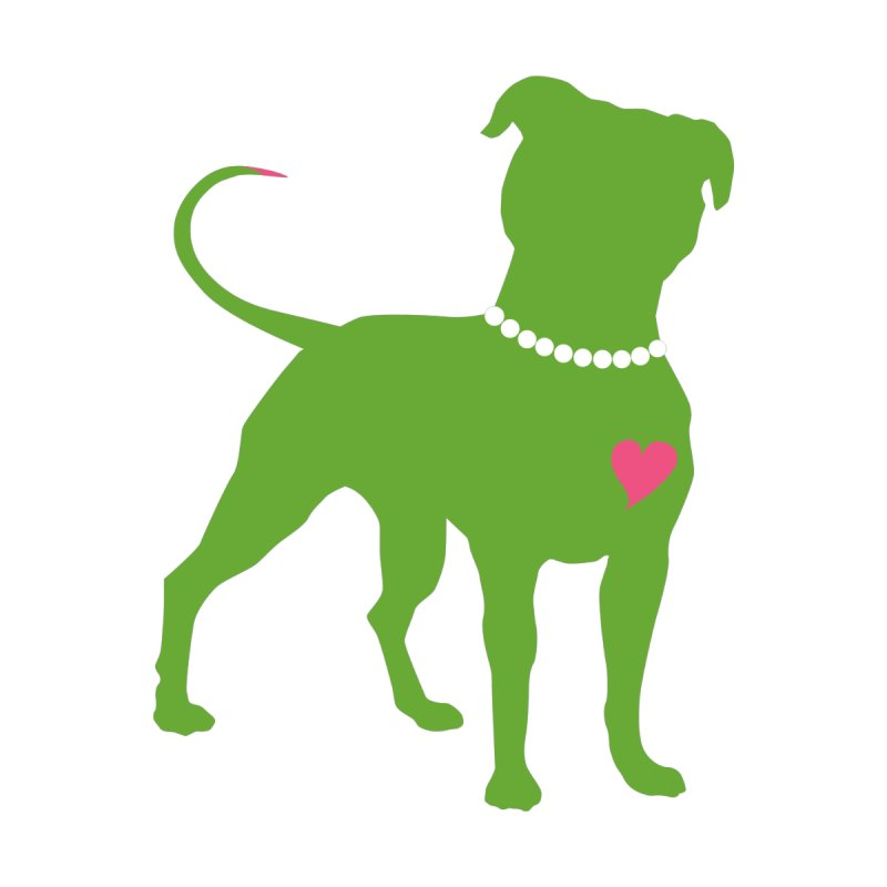Pit In Pearls Stickers - The Original by Pittie Chicks
