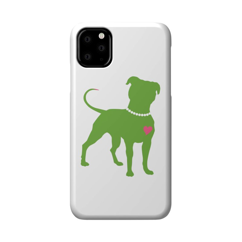 Pit In Pearls Stickers - The Original Accessories Phone Case by Pittie Chicks