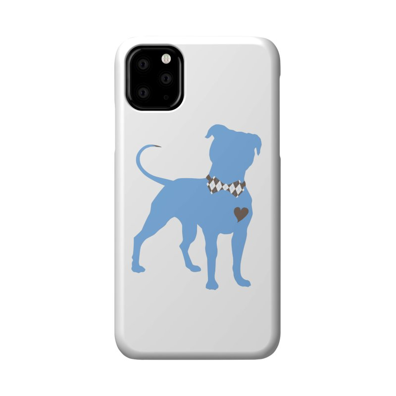 Bow Tie Pit Bull Stickers _ The Original Accessories Phone Case by Pittie Chicks