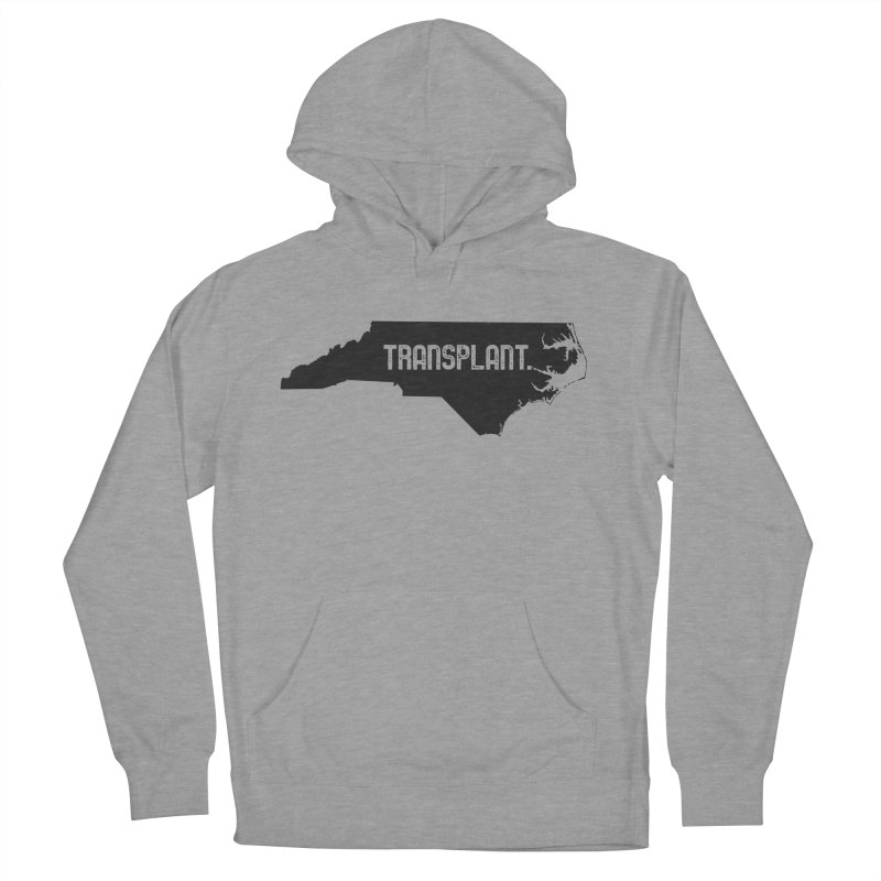 NC Transplant Men's French Terry Pullover Hoody by Pittie Chicks