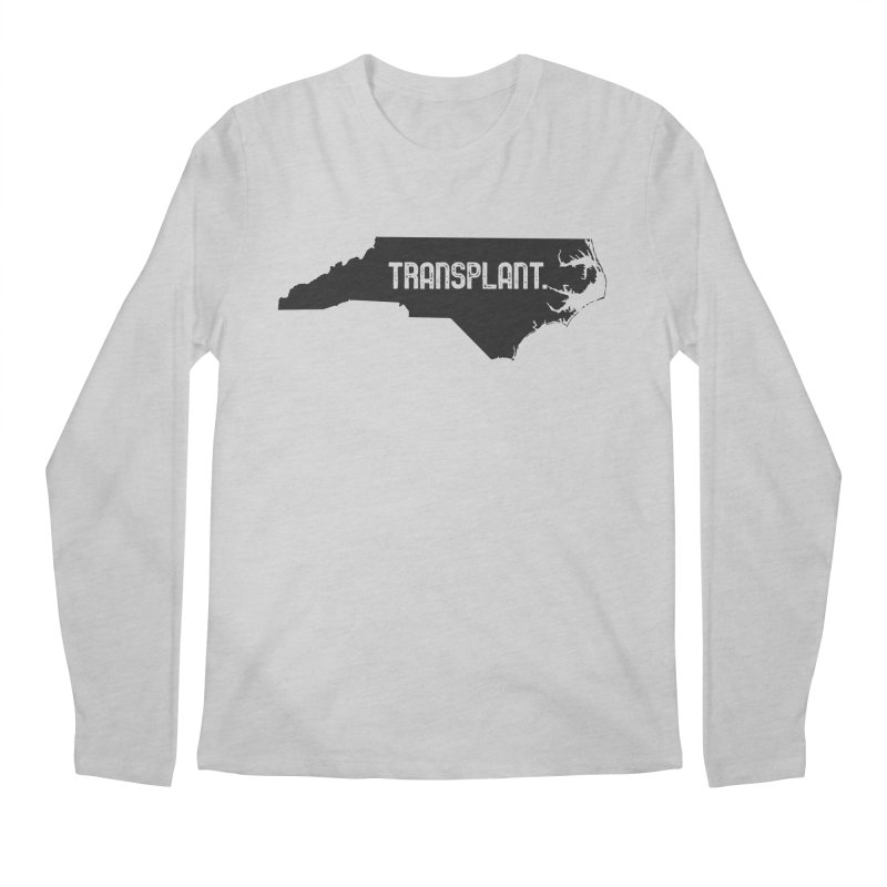 NC Transplant Men's Regular Longsleeve T-Shirt by Pittie Chicks