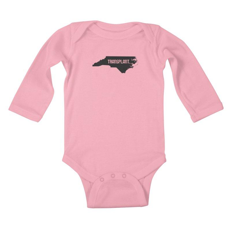 NC Transplant Kids Baby Longsleeve Bodysuit by Pittie Chicks