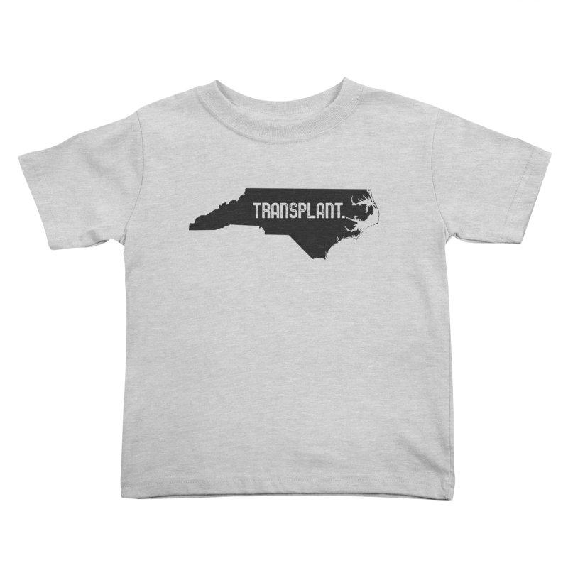 NC Transplant Kids Toddler T-Shirt by Pittie Chicks