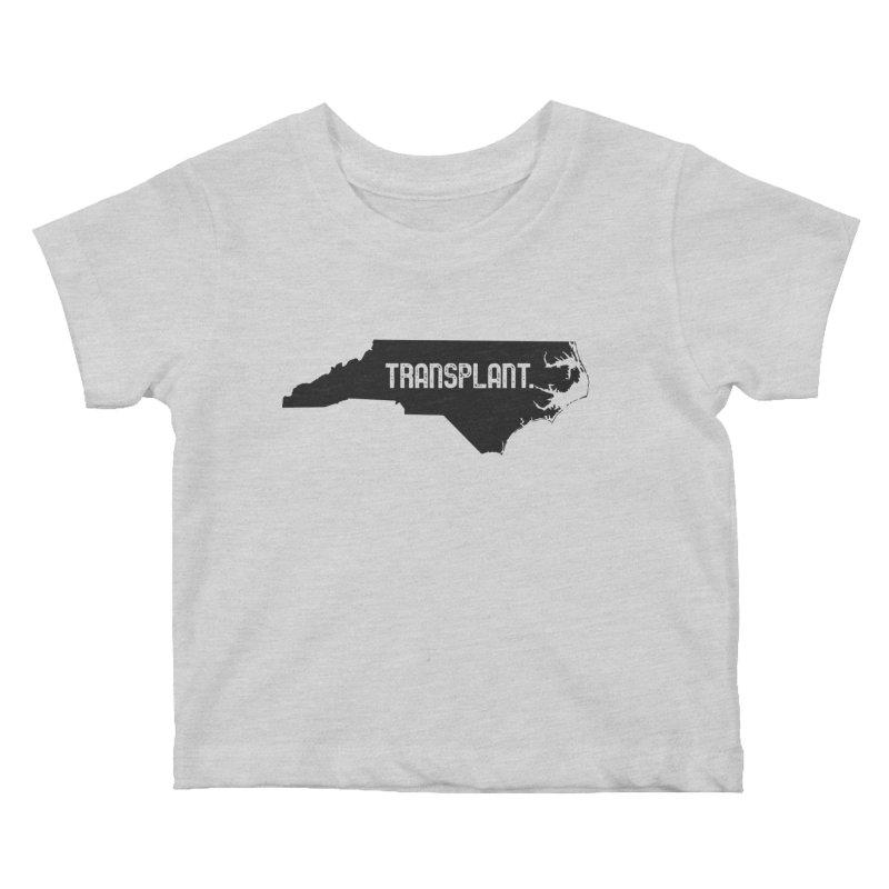 NC Transplant Kids Baby T-Shirt by Pittie Chicks